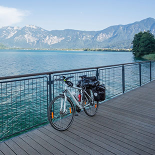 Italy's most beautiful cycle paths