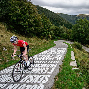 From Erba to the world's hardest bike path