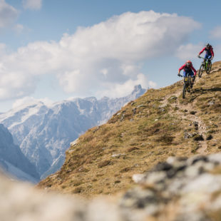 Special Bike Days at the beginning of the summer season in the Dolomites of Sexen